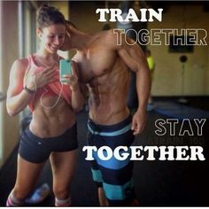 couple romance-level 2 - fitness couple look intimate together workout clothes on
