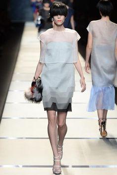 fendi spring 2014 fashion show | ... blog: Kayley and Meghan walk Fendi Spring 2014 at Milan Fashion Week