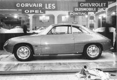 Alfa Romeo Giulietta Sprint Zagato SZ (1960) - attraktives Coupé, präsentiert am Genfer Autosalon 1960