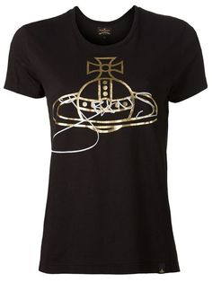 Shop Vivienne Westwood 'Orb' t-shirt in Anastasia Boutique from the world's best independent boutiques at farfetch.com. Over 1000 designers from 60 boutiques in one website.
