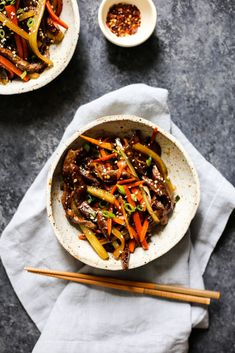 Sichuan Beef Stir Fry (whole30, paleo, clean eating)