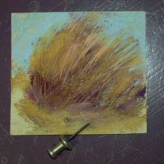 Painting My World: The Secret to Making Fine Lines with Pastels