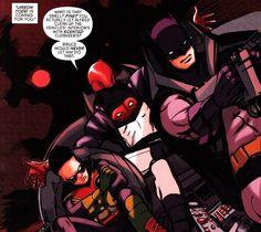 Dick Grayson, Jason Todd Damian Wayne