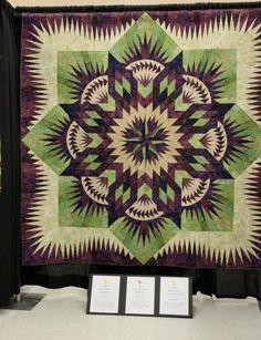 Prairie Star, Quiltworx.com, Made by Susie McCracken