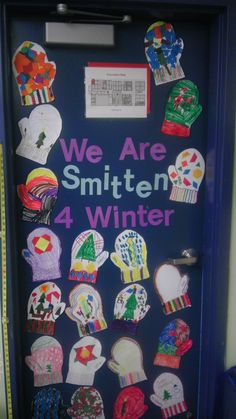 Classroom Door For January I Made The Snowmen For The
