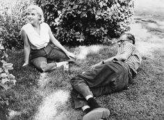 1960 with Arthur Miller