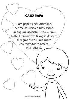 Poesie per la festa del papà - Fantavolando Fathers Day, Aurora, Kids Toys, Crafts For Kids, 1, Activities, Disney Princess, Disney Characters, Children