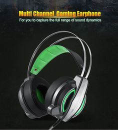 Noise Isolating Gaming Headphones 3.5mmUSB Headband Headset Gamer LED Wired With Mic Stereo Bass Casque Audio For Computer PC