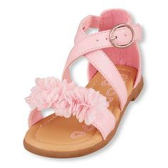 A blooming style that makes any outfit her cutest! Big Fashion, Little Prices Stylish Toddler Girl, Toddler Girl Shoes, Baby Girl Shoes, Toddler Fashion, Girls Shoes, Kids Fashion, Trendy Fashion, Victoria Shoes, Kids Clothes Sale