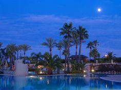 Puerto Antilla Grand Hotel  Pool Night View 3 / Piscina Vista Nocturna 3