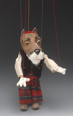 Bamfords : SL 63 Scottie Dog - Pelham Puppets SL 63 Range, large : Online Auction Catalogue