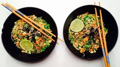 Asiatisk nudelsalat - Green Bonanza