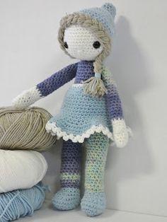 Woolish: Amigurimi Kaboutermeisje Amigurumi Doll, Crochet Dolls, Baby Toys, Minions, Children, Kids, Projects To Try, Crochet Patterns, Teddy Bear