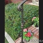 (EX-55) - Sample of forged newel post with bronze patina