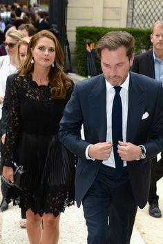 July 2013.  MYROYALS  FASHİON: Princess Madeleine and Chris O'Neill in Paris