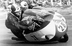 Libero Liberati (Gilera) and Bob Mc Intyre (Gilera) ~ I'm pretty sure the rider in back is G.E. Duke