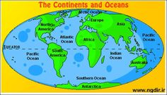 Oceans and Continents Worksheets Printable Blank Map Continents and Oceans New World Map with Geography Worksheets, Social Studies Worksheets, Teaching Social Studies, Continents And Countries, Continents And Oceans, 5 Oceans, Printable Maps, Printable Worksheets, Free Printables