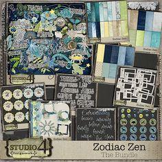 Zodiac Zen by Studio4 Design works bundle