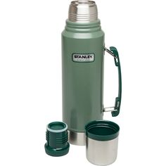 Stanley Coffee Thermos Vacuum Bottle Classic Stainless Steel Hammerton 1.1 Quart #Thermos