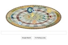 Nicolaus Copernicus' 540th Birthday Celebrated by Google Doodle