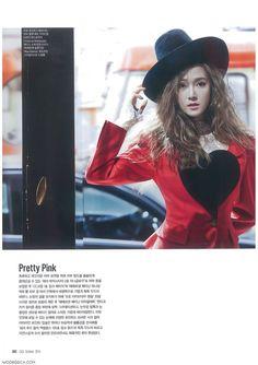 SNSD Jessica Jung : Ceci Magazine Issue Oct 2014