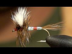 Patriot Fly Tying Video Instructions and Tutorial. How To Tie Patriot Attractor Dry Fly Pattern. Best FREE Fly Tying Video Library and Videos. Fishing Life, Best Fishing, Fly Fishing, Fishing Stuff, Fishing For Beginners, Lure Making, Salmon Flies, Fly Tying Patterns, Fishing Techniques