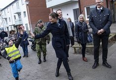Crown Princess Victoria visited Helsingborg Municipality