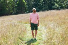 Pink + camo = great color combo.  From the Jack Spade Spring Lookbook.