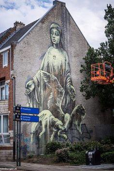 Heerlen, Street Art City in The Netherlands (HRLN Street Art)