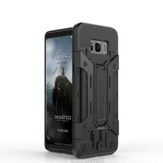 Galaxy Plus Case Transformer Card Holder (Black) Transformers, Easy Peasy, Life Hacks, Electronics, Phone, Cover, Telephone, Mobile Phones, Consumer Electronics