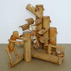 Resultado de imagem para decoración con muebles de bambu