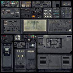 A variety of soviet equipment panels. Arte 8 Bits, Hard Surface Modeling, Spaceship Interior, Game Ui Design, Sci Fi Models, Fallout New Vegas, Modelos 3d, 3d Texture, Retro Futuristic