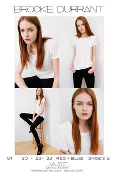 Muse Models S/S 15 Polaroids/Portraits (Polaroids/Digitals)