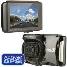 Snooper DVR-4HD is a 1080p Full HD dashboard camera with FREE lifetime alerts to speed cameras locations. The latest dash cam from Snooper features a 2.7-inch touchscreen for instant playback of video recorded. Learn more: http://www.activegps.co.uk/snooper-dvr-4hd.htm