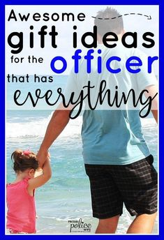 Police officer gift ideas don't have to be hard any day of the year! These AWESOME gifts are sure to make your law enforcement officer happy and maybe even surprise him! Your officer will thank you :) Police Girlfriend, Cop Wife, Police Wife Life, Police Officer Gifts, Police Gifts, Husband Appreciation, Enforcement Officer, Gifts For Office, Awesome Gifts