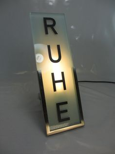 RUHE.