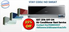 Summer Offer In Pune..........Get 25% Offer On #Air #Conditioner #Rent #ServiceSTAY COOL,NO SWEAT.