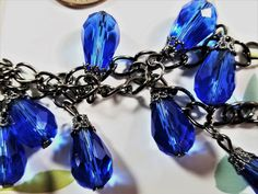Satin Ribbon Roses, First Flat, Rose Photos, Upcycled Crafts, Faceted Glass, Craft Items, Blue Sapphire, Shapes, Drop Earrings