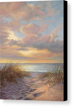 A Moment Of Tranquility Canvas Print by Lucie Bilodeau.  All canvas prints are professionally printed, assembled, and shipped within 3 - 4 business days and delivered ready-to-hang on your wall. Choose from multiple print sizes, border colors, and canvas materials.