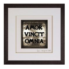Irish Love Quote Amor Vincit Omnia (Love Conquers All) * New and awesome product awaits you, Read it now  (This is an amazon affiliate link. I may earn commission from it)