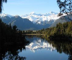 Lake Matheson. Photo © Brian Dobbie.
