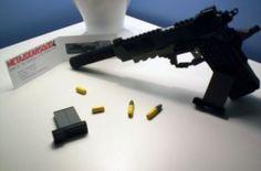 Lego Metal Gear Solid Gun