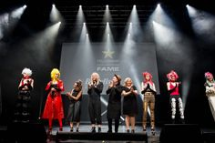 2017 UK FAME Team performs at Hair Expo Australia 2017 GenNext Gala