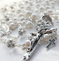 Custom+Rosary+Wedding+Lasso+Wedding+Lazo+by+Theinvisibleprince,+$85.00