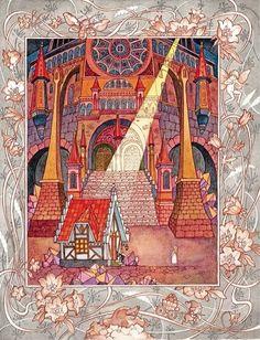 çizgili masallar: Bee, Princess of the Dwarfs by Olga Ionaytis
