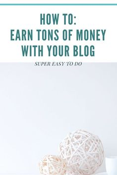 This is the way to earn money with your blog. Want to get tons of money and products? These blogtips are for all kind of bloggers. Beauty, fashion, lifestyle, travel and all sort of bloggers.