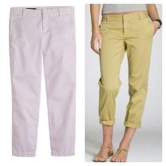 J. Crew NWT Scout Chino, Lilac, size 8