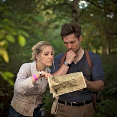 Nathan Drake & Elena Fisher cosplay. Uncharted.