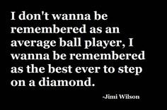 If every player thought like that, a team would be unstoppable.