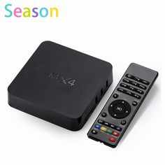 >> Click to Buy << Newest MX4 4K Android TV Box 1G 8G Smart Boxes RK3229 KODI H.265 4K 60tps Support HD Media Player Remote Control #Affiliate